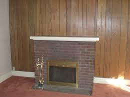 brick fireplace makeover delmaegypt