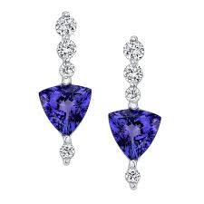 tanzanite earrings barkev s tanzanite diamond earrings 6703e barkev s