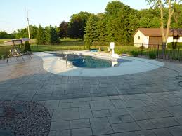 Landscaping Around Pools by Completed Inground Swimming Pools U0026 Landscaping