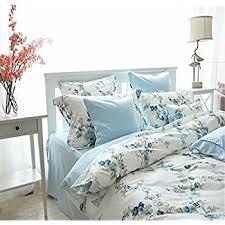 Porcelain Blue Duvet Cover Amazon Com Garden Chinoiserie Floral Duvet Quilt Cover Asian