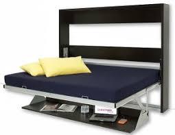 Wall Folding Bed Italian Wall Bed Desk Horizontal Murphysofa Smart Furniture