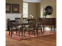 7 Pc Dining Room Sets by Standard Furniture Woodmont 7 Piece Rectangular Dining Table