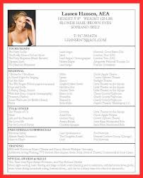 acting resume example resume example and free resume maker