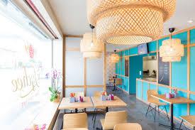 Restaurant Interior Design The Lychee Take Away Restaurant By Barmade Interior Design