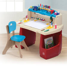 step 2 deluxe art desk step2 deluxe art master desk with chair toys r us