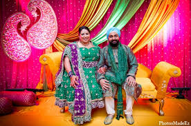 Traditional Marriage Decorations Philadelphia Pennsylvania Sikh Wedding By Photosmadeez Maharani