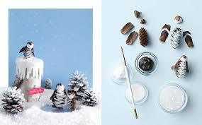 please note bright idea decorating with pinecones