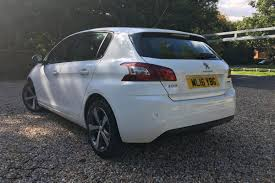 peugeot approved used cars 2016 peugeot 308 used car 12999 charters peugeot