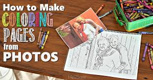 make custom coloring pages from your photos u2013 hip2save