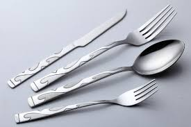 engrave flatware sets for 4 piece best flatware best stainless