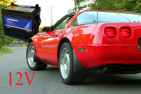 c4 corvette years how to replace a battery in a c4 corvette