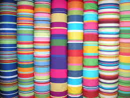 Upholstery Fabric For Curtains Funky Brightly Coloured Striped Curtain Fabrics Striped