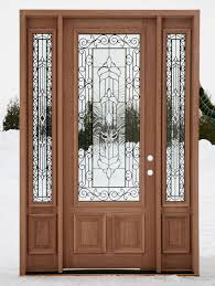 wood front door front doors with glass are irreplaceable for a country house