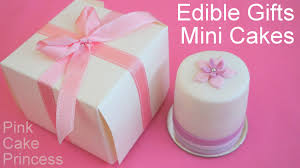 small halloween gifts how to make mini cakes for edible gifts or wedding favors by pink