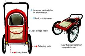 happy trailer pet stroller