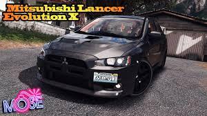 mitsubishi lancer evolution 2016 gta 5 4k mods 2016 mitsubishi lancer evolution x youtube