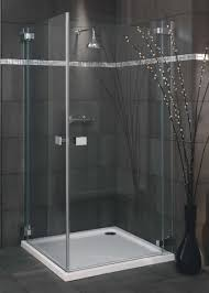800 Shower Door Italia Milazzo Frameless Pivot Shower Door 800 X 800 Silver