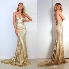 prom dresses with v neck criss cross backless bling bling