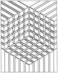 printable coloring pages adults geometric repeating pattern