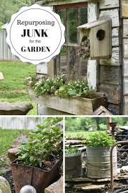 Recycling Garden Ideas Best Recycled Garden Ideas On Pinterest Recycling Plant Diy Herb