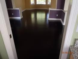 staining hardwood floors black home design