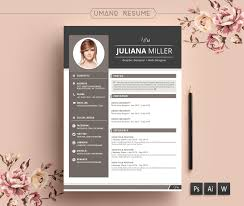 Modern Resume Templates Word Resume Template U0026 Free Cover Letter Word Psd Ai Diy