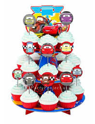 cars cake toppers cupcake toppers unique handmade party decor birthday cupcake