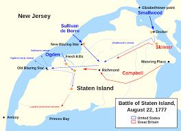 Staten Island Map Battle Of Staten Island Wikipedia
