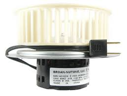 nutone 0695b000 motor assembly for qt80 series fans built in