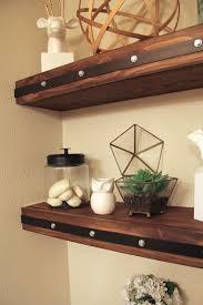 shelf with lights underneath bathroom led strip floating shelf furniture lighting youtube