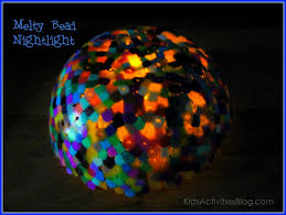 melted bead projects to create with children