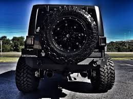 jeep rubicon blacked out 2017 jeep wrangler unlimited rubicon black out custom fab four 38s