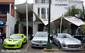 mercedes mex mercedes sls amg spotted in mexico city mexico on 04 02 2013