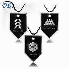dog tag pendant necklace images Movie destiny warlock titan hunter beads chain necklace division jpg