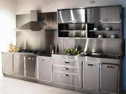 Metal Cabinets Kitchen Metal Kitchen Cabinets Set U2014 Optimizing Home Decor Ideas Durable