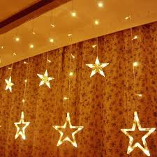 Led Light Curtains Warm White Led Star Curtain Lights Curtain Best Ideas