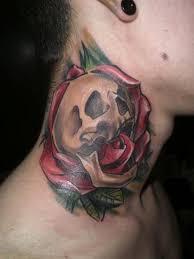 43 unique skull neck tattoos
