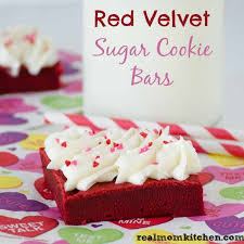 red velvet sugar cookie bars real mom kitchen