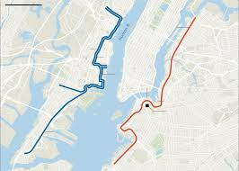 Map Of Hudson County Nj What Planners Of Brooklyn Queens Streetcar Line Can Learn In New