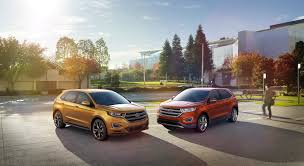 ford edge crossover ford debuts all new 2015 edge crossover suv la times