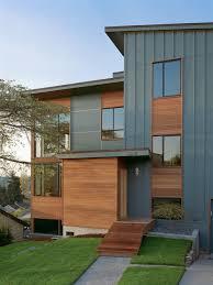 Slanted Roof House Sloped Roof Houzz