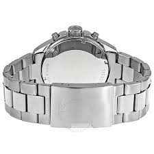 bracelet fossil steel images Fossil chronograph stainless steel bracelet blue dial men 39 s watch jpg