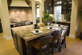 Kitchen Island Table With 4 Chairs 32 Kitchen Islands With Seating Chairs And Stools Intended For