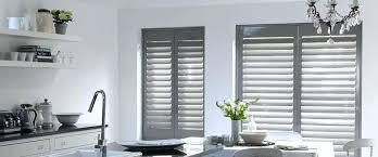 kitchen window shutters interior kitchen window shutters st grey plantation shutters kitchen window