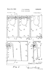 patent us3242619 toilet compartment google patents