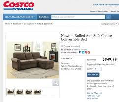 newton chaise sofa bed costco pulaski newton chaise sofa costco 558x480 jpg