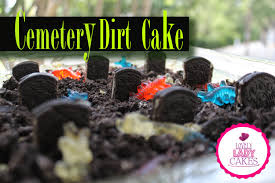 cemetery dirt cake halloween collab youtube