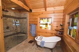 log home bathroom ideas log home bathrooms rustic bathroom nashville by cavender s