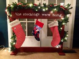 stocking holder made from pallet wood homemade wood pallet signs