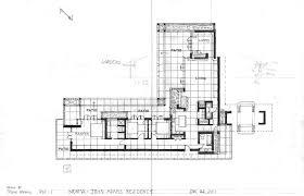 frank lloyd wright falling water floor plan images modern usonian